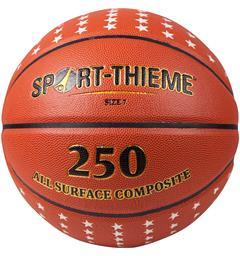 Basketball Sport-Thieme 250 Gold Basketball til inne- og utebruk