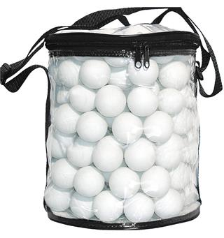 Bordtennisballer i bag 144-pack | hvit