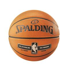 Basketball Spalding NBA Platinium Basketball til utebruk | str 7