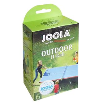 Bordtennisball Joola Utendørs 6-pack