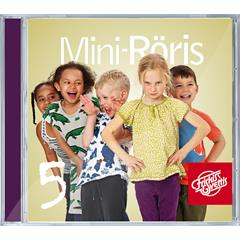 Mini-Røris 5 CD - Svensk tale