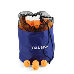 Bordtennisballer i bag 144-pack | oransje
